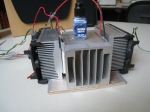 Preview of the heating/cooling unit (hcu) before assembling it.